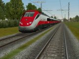 Screenshot del simulatore Microsoft Train Simulator